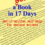 How to Write a Good Book in 17 Days
