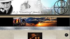 C. J. Country James books, a continuing montana love story